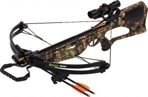 Barnett 78032 Quad 400 Crossbow/Scope Package 4X32 Camo - 78032
