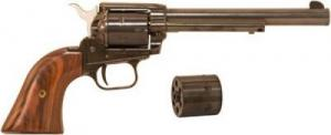 "Heritage RR22MB6 Rough Rider 6RD 22LR/22MAG 6.5"" Blued"