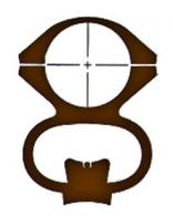 Ironsighter See-Thru Mount For Marlin 336 - 710