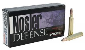 Nosler 39674 Defense Rifle 223 Remington/5.56 NATO Bonded So