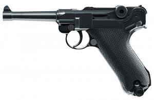RWS 2251800 Luger P08 Air Pistol Semi-Auto  177 BB