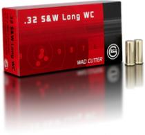 GECO 2127601 32 Smith & Wesson Long 100 GR Wad Cutter 50Box/ - 2127601