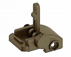 Blackhawk 71BU01DK AR-15 Folding Rear Back Up Iron Sight Fla