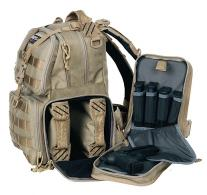 G*Outdoors T1612BPT Tactical Range Backpack 1000D Nylon w/Te - T1612BPT
