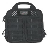 G*Outdoors T1412PCB Tactical Double +2 Pistol Case 1000D Nyl - T1412PCB
