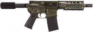 "Diamondback Firearms DB15P 7 Pistol 223 Rem/5.56 NATO 7.5"" Orange Drab Green Cera - DB15PODG7"