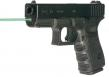 LSRMX LMS-G4-19G GLOCK 19 Gen4 4IN Grn Guide Rod Blk Finish