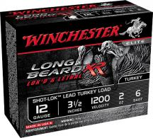 "Winchester STLB12L6 Long Beard XR Lead Turkey 12ga 3.5"" 2oz"