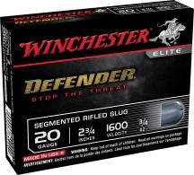 Winchester Ammo S20PDX1S Defender Personal Defense 20 GA 2.75 - s20pdx1s