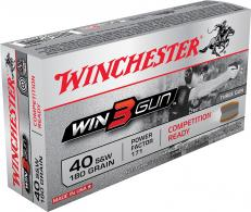 Winchester Ammo X40TG Win3Gun 40 Smith & Wesson 180 GR 50 Bo