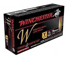 Winchester Ammo W9MMT Train 9mm Luger Full Metal Jacket 147