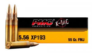 PMC 556XBP Battle Packs Bulk Ammo 5.56mm FMJ-BT 55GR 200Box/