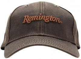 Outdoor Cap Weathered Cotton Cap Sports Cap Brown Remington  - 114283