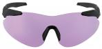 Beretta Soft Touch Plastic Frame Shooting Shields - Purple