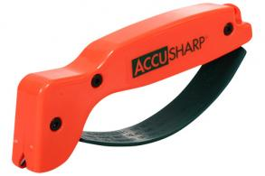 Accusharp 014C Blaze Orange Knife Sharpener Tungsten Carbide - 014C