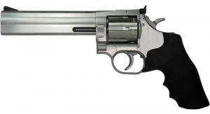 "Dan Wesson 01932 715 .357 MAG Single/Double Action .357 MAG 6"" 6 Black Rubber Stai - 01932"