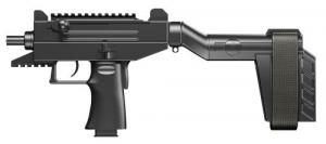 "IWI US, Inc. US UPP9SB Uzi Pro 9mm with Stabilizing Brace Pistol Semi-Automatic 9mm 4.5"" - UPP9SB"