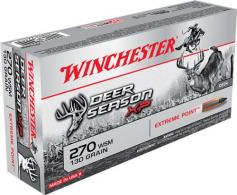 Winchester Ammo X270SDS Deer Season XP 270 Winchester Short Magnum 130 GR Extre