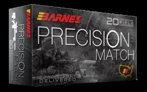 Barnes Bullets 30818 Precision Match 308 Win/7.62 NATO 175 GR OTM 20 Bx/ 10 Cs