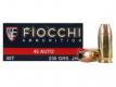 Fiocchi 45T500 Shooting Dynamics 45 Automatic Colt Pistol (ACP) 230 GR Jacketed