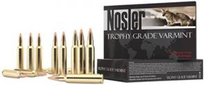 Nosler 60028 Trophy Grade 223 Remington/5.56 NATO 55 GR E-Tip 20 Bx/ 10 Cs