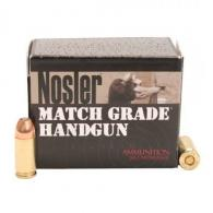 Nosler 51286 Match Grade 9mm Luger 124 GR JHP 20 Bx/ 20 Cs