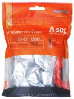 Adventure Medical Kits 01401240 SOL Fire Cubes w/Striker - 01401240