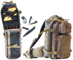 G*Outdoors T1611LTB Tactical Bugout Backpack Tan - T1611LTB