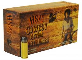 HSM 411N Cowboy Action 41 Remington Magnum 210 GR Semi-Wadcutter 50 Bx/ 10 Cs
