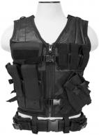 NCStar CTVL2916B Tactical Vest Black XL-XXL Tough PVC/Mesh Webbing - CTVL2916B