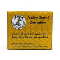 Jamison 357MAG158GRD Guardian Grade 357 Magnum 158 GR Jacketed Hollow Point 20 - 357MAG158GRD