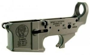 Spikes Tactical STLS011 AR-15 Zombie Stripped Lower Receiver
