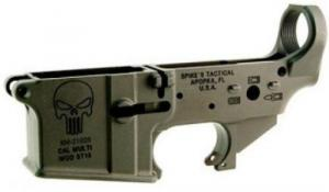 Spikes Tactical STLS015 AR-15 Punisher Stripped Lower Receiverr - STLS015