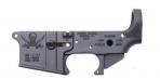 Spikes STLS016 Stripped Lower Pirate AR-15 Multi-Caliber Black - STLS016