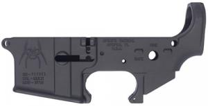 Spikes STLS018 Stripped Lower Spider AR-15 Multi-Caliber Black - STLS018