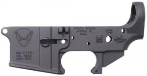 Spikes STLS020 Stripped Lower Honey Badger AR-15 Multi-Caliber Black - STLS020