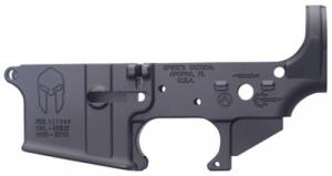Spikes STLS021 Stripped Lower Spartan AR-15 Multi-Caliber Black - STLS021
