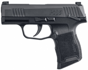 Sig Sauer 3659BXR3MS P365 Micro-Compact 9mm Luger Double 3.1 10+1 MS Black Po
