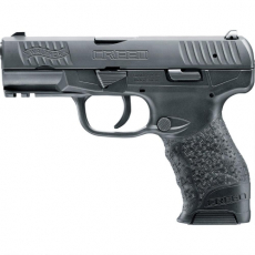 Walther Arms Creed 9mm 4 16+1 Black Grip Black