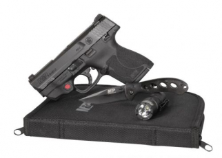 S&W M&P9 Shield M2.0 W/CT Laser & EDC Kit