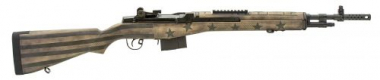 Springfield M1A Scout Squad 7.62/308 Sand/Green Flag Stock