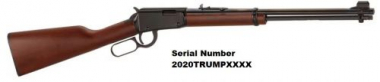 TRUMP Henry H001 Lever Action 22LR Special Serial Number