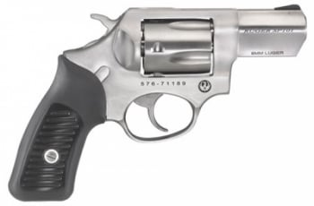Ruger SP101 Standard Single/Double 9mm Luger 2.25