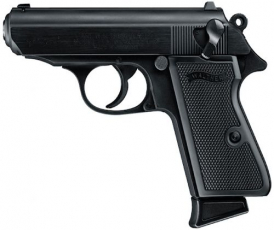 Walther Arms PPK/S .22LR 3.35\ TB 10+1 Black Synthetic