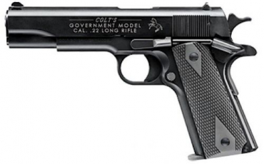 Walther Arms Colt 5170304 1911 Government Tribute .22 LR  5\ 12+1 Poly Grips