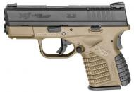 Springfield XD-S® 3.3″ Single Stack .45ACP FDE