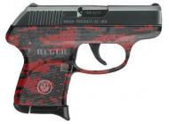 Ruger LCP 380ACP 6+1 3749 Red Digital