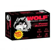 Wolf Power Buckshot 12GA 2 3/4
