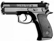 CZ 75 D COMPACT 9MM RAIL DECOCKER RAIL 14RD