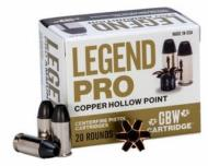 Legend AMMO .38 SPL. 110GR Solid Hollow Point 20 rounds